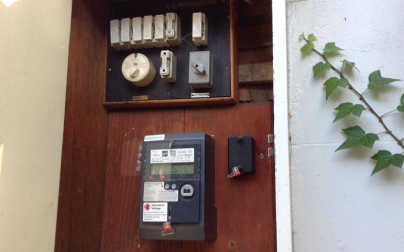 asbestos meter boxes