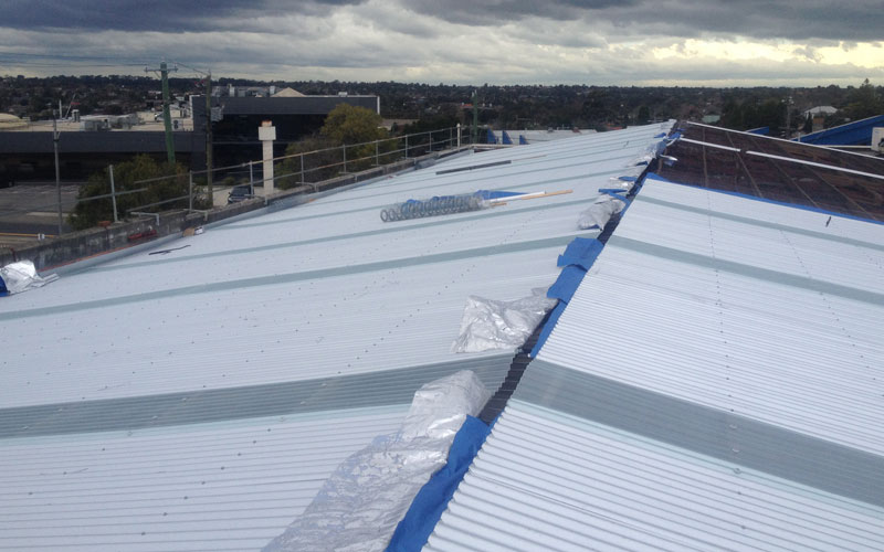 replacing an asbestos roof