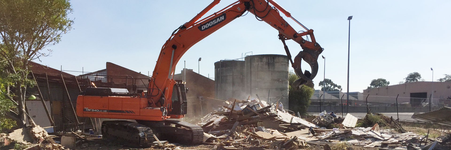 asbestos demolition and site clearing